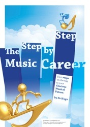 The Step-by-Step Music Career workbook cover.