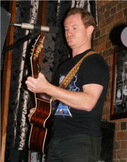 Huge performing original music at SNQ Presents at Kitty O'Shea's Brisbane June 2010.